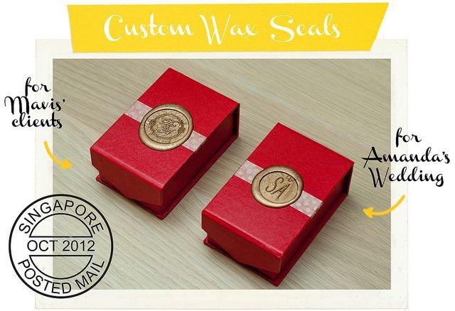 wax-seal by katrina alana