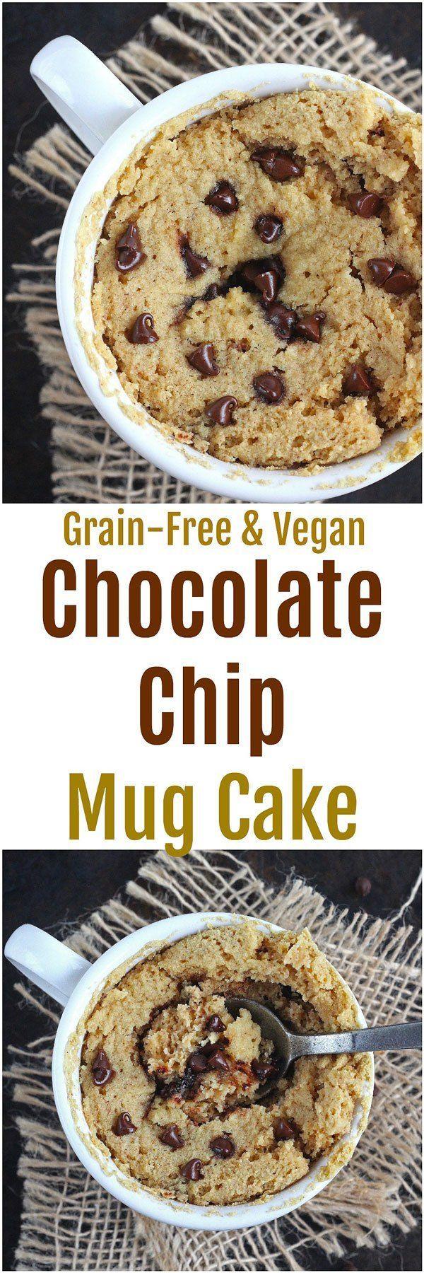 Chocolate Chip Mug Cake  Vegan  - Katalyst Health ...