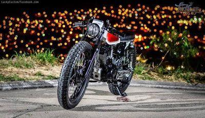"Honda CG 125 Cafe Racer ""Project 23"" by Lucky Custom - Lsr Bikes"