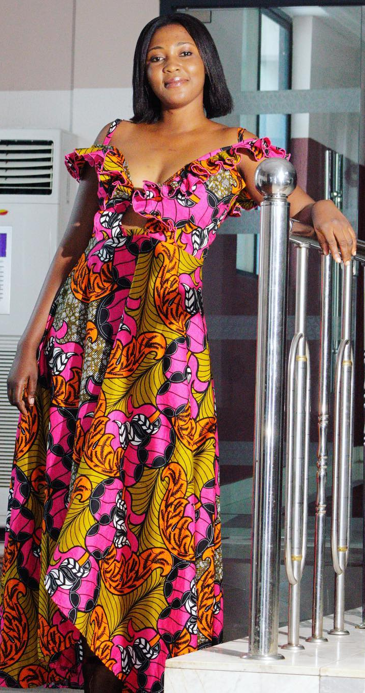 Ankara long dress african fashion ankara kitenge african women