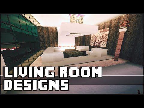 Minecraft Modern House Furniture Ideas Homeminimalis Com Living Room Designs Living Design Minecraft House Designs