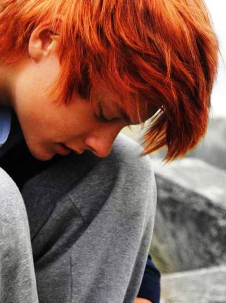 Mens red Hair Color for Men Mens Haircuts Mens