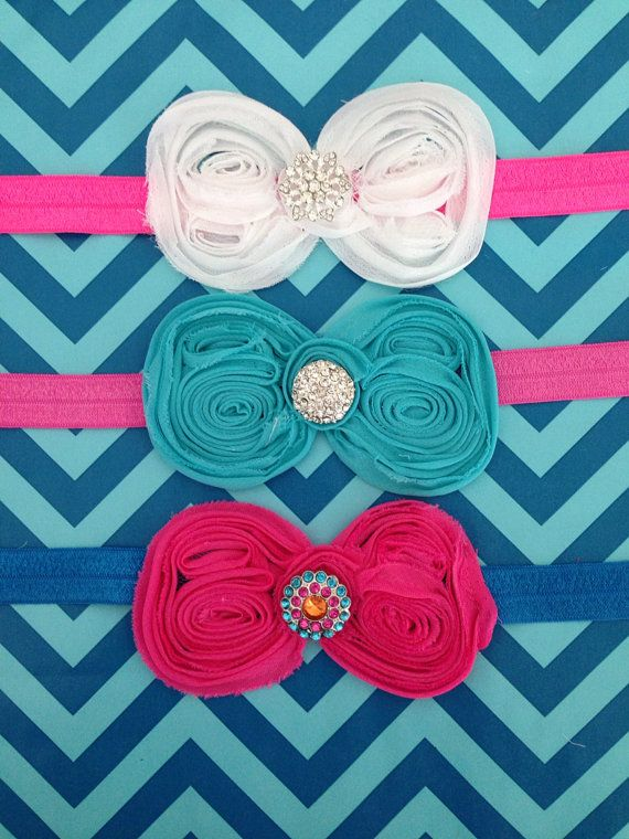 Boutique Bows by sassybabyessentials on Etsy, $8.95