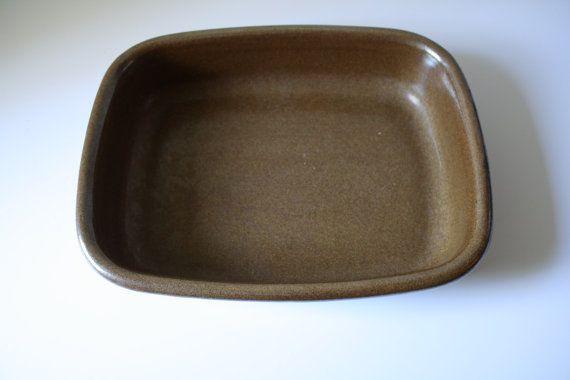 Eslau Denmark Maren Line Stoneware Baking Dish By Retrothrift305