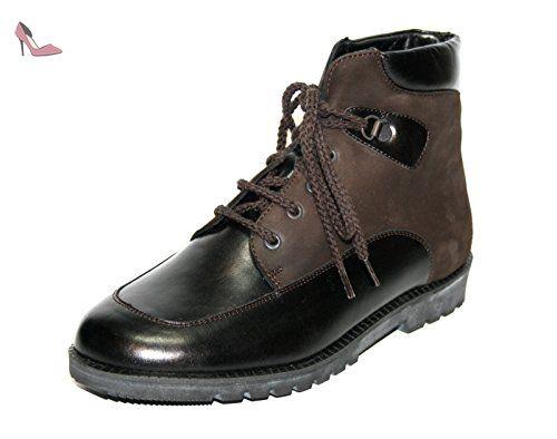 Ganter Fiona STFL Weite F 4-205121, Boots FemmeNoir-TR-H2-36, 37.5 EU
