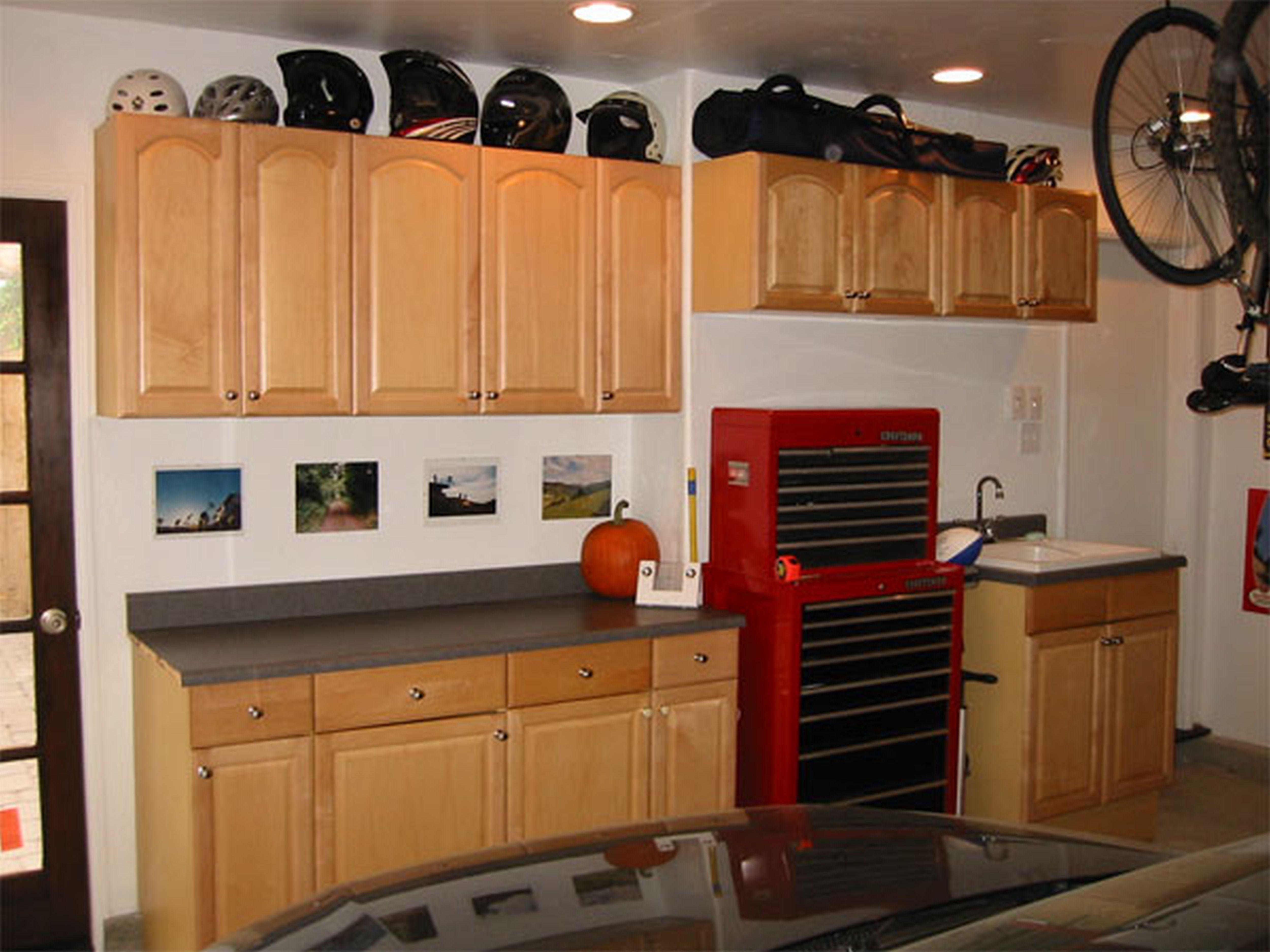 Garage Workbench Storage
