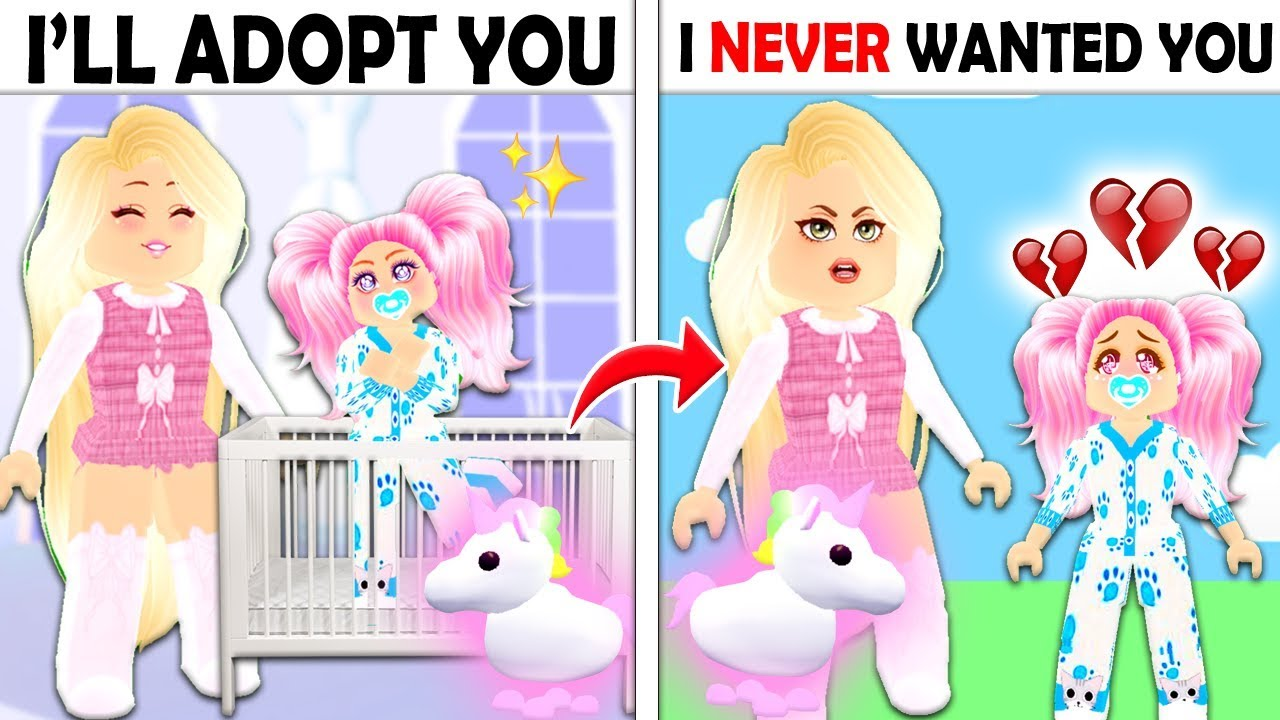 She Only Adopted Me Because Of My Neon Pet In Adopt Me Roblox
