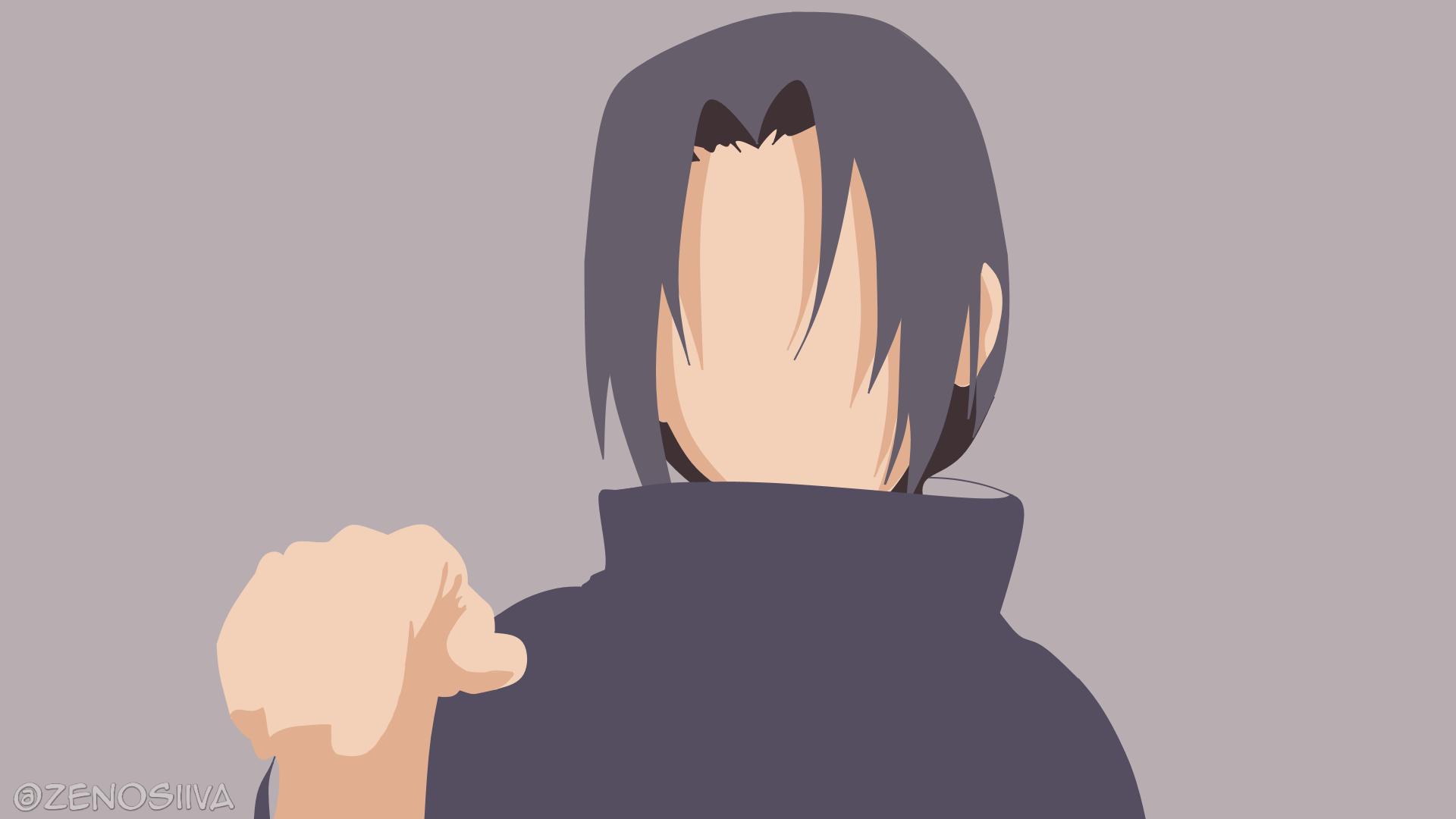 Itachi Uchiha (Naruto Shippuden) Minimalist by zenosilva on DeviantArt