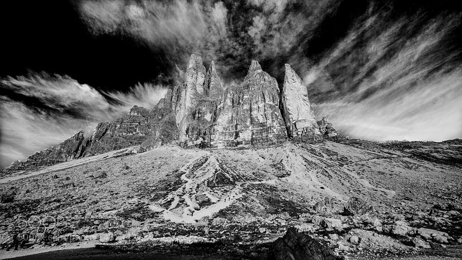 Le Tre cime by GianiScarpa. @go4fotos
