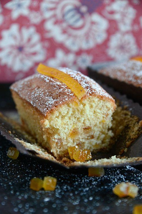 Petits cakes aux agrumes