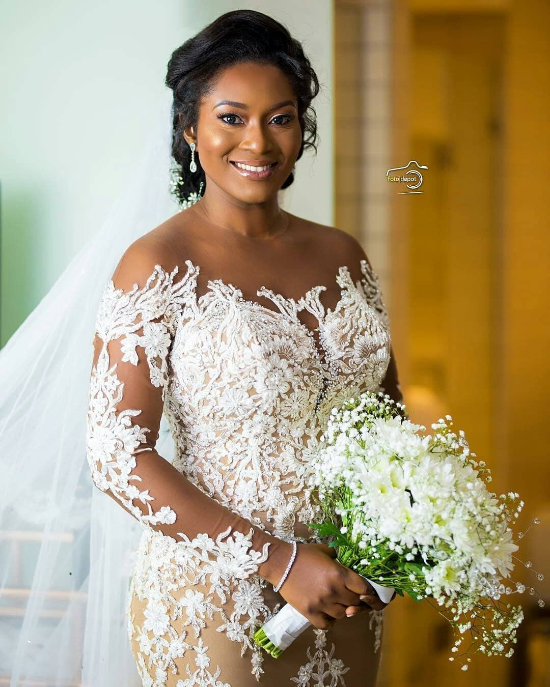 Sarkodie Wedding Photos With His Wife Tracy Sarkcess Titi And