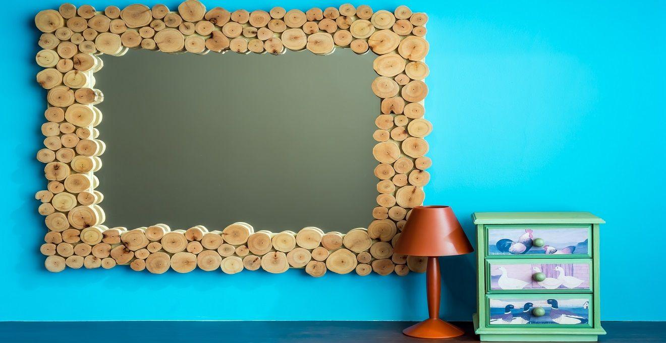 Espelho com Moldura: Decorativo e Funcional