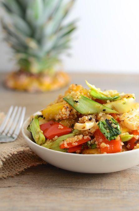 Grilled Vegan Hawaiian Salad Juju Good News Raw And