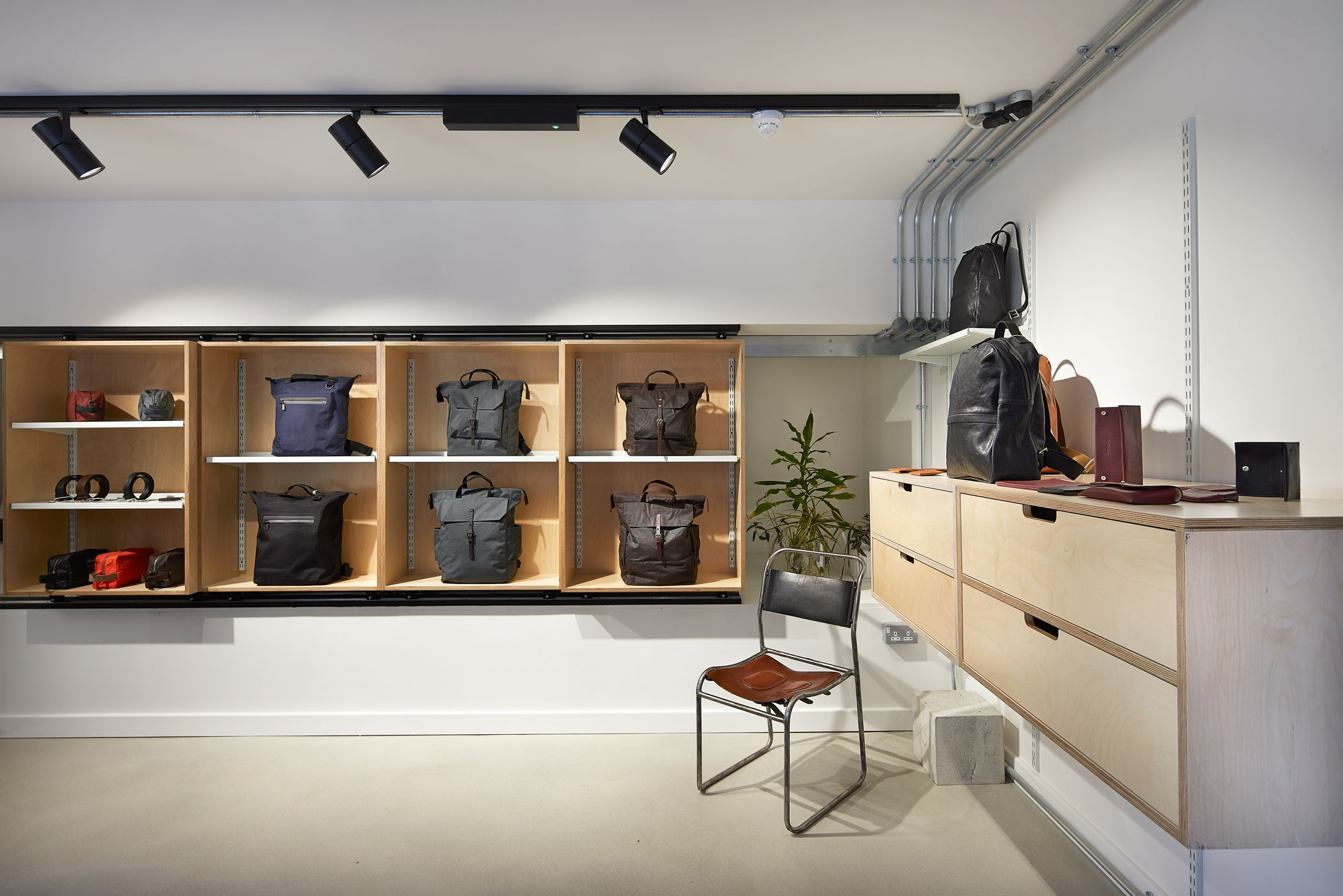 Plywood Storage For Pop Up Stores At Cdy For Argent Designed By