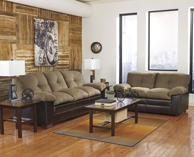 Macneill Umber Sofa Loveseat At Royal Star Furniture Home