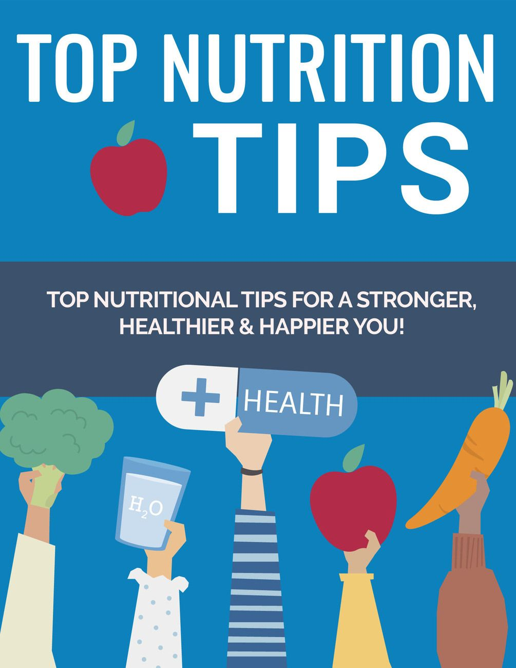 (10-Nutrition-Tips) Learn how to eat healthy. #Healthcare #HealthTips #HealthNutritionTips #SkinHeal...