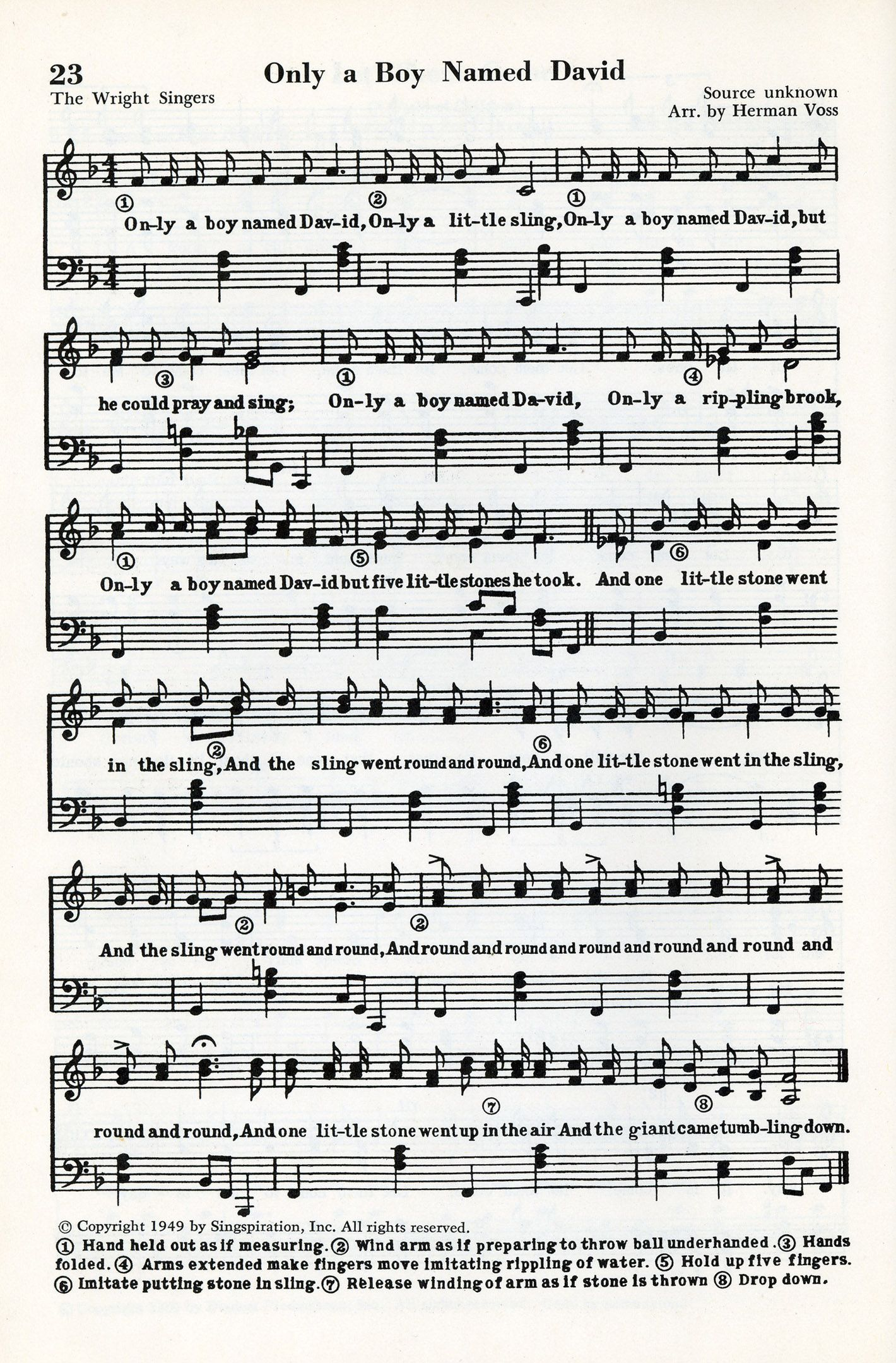Free choir sheet music jesus loves me this i know free sheet only a boy named david hexwebz Images