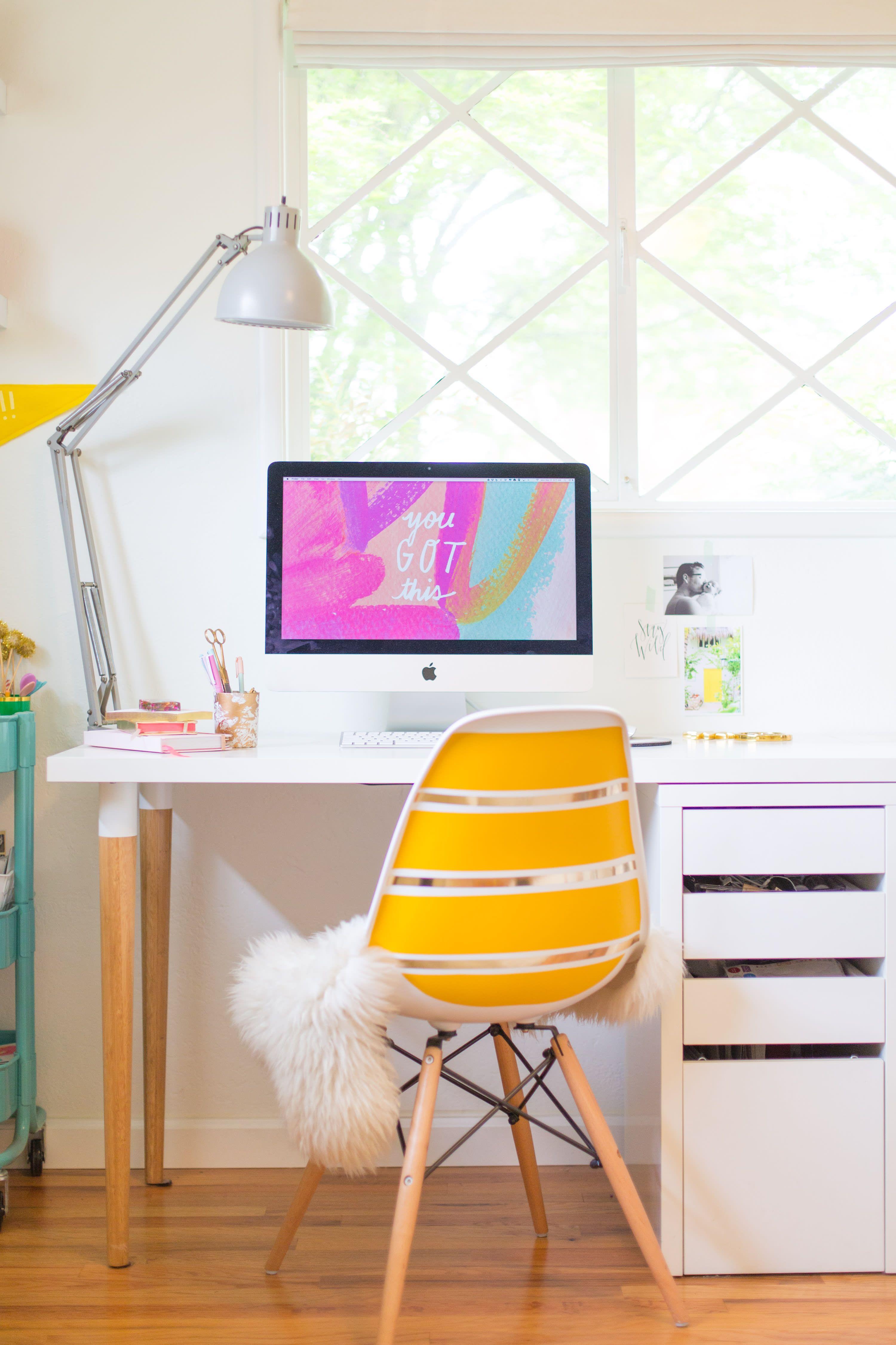 5 Ikea Desk Hacks That Mean Serious Business Ikea Desk Hack Ikea Desk Diy Desk Decor
