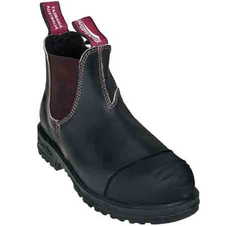 Blundstone 903 Mens Steel Toe Slip-On Work Boots | FootwearStore ...
