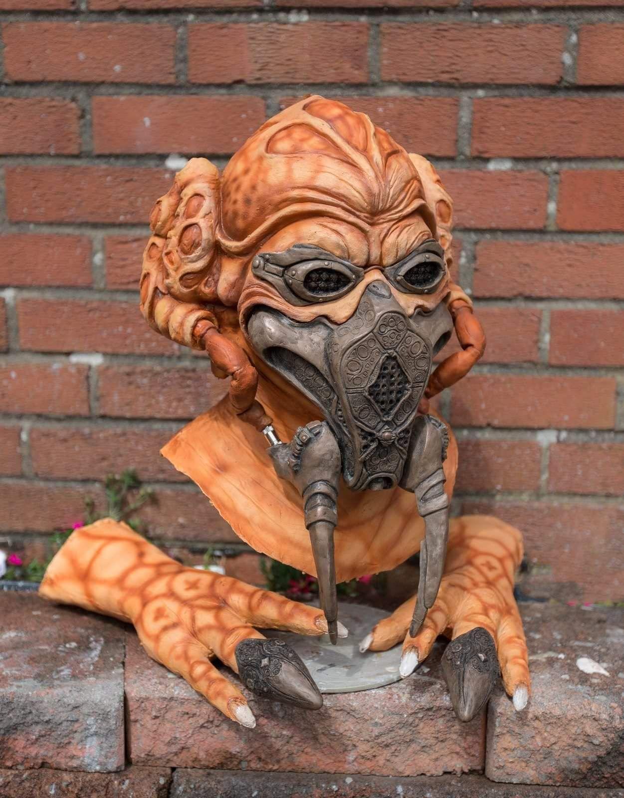 Plo koon latex mask
