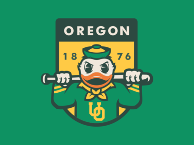 Oregon Baseball Baseball Design Baseball Teams Logo Identity Design Logo