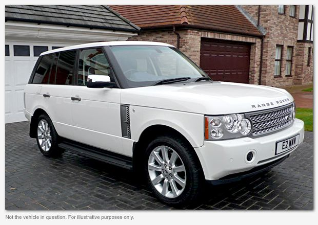 white range rover i would look so good driving this one day this will be parked in my garage. Black Bedroom Furniture Sets. Home Design Ideas
