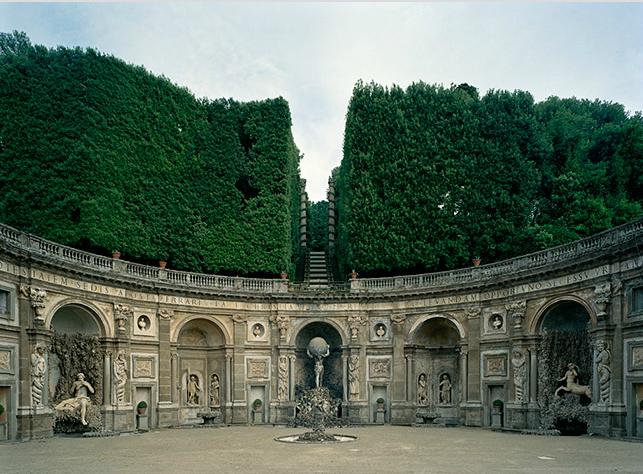 Villa Aldobrandini, Frascati, Rome. Theatre of the Waters (by Carlo Maderno and Orazio Olivieri)