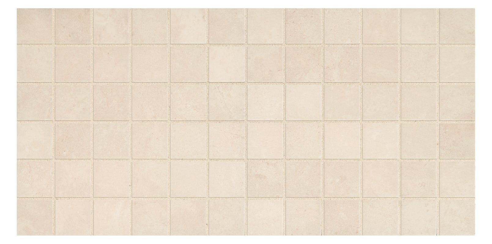 "Daltile AF22MS1P Affinity - 2"" X 2"" - Limestone Visual - Square Mosaic Tile (2 S Cream Tile Multi-Surface Tile Mosaic"