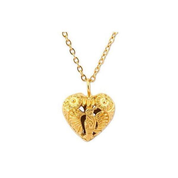 Novica Diamond pendant, Golden Key