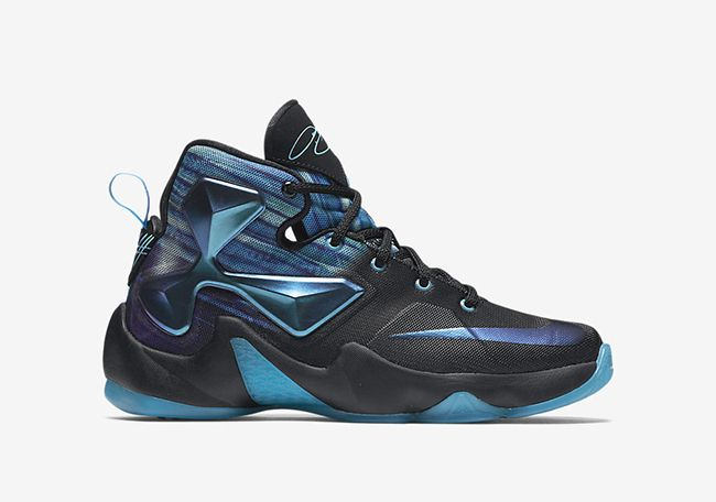 timeless design 536d4 ca989 Nike LeBron 13 Summit Lake Hornets   SneakerFiles