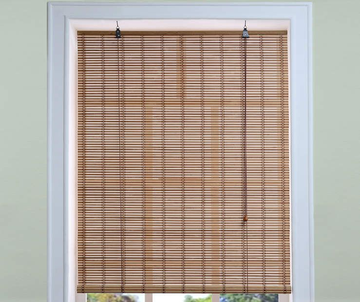 Bamboo Roll Up Blind 36 X 72 At Big Lots Blinds For