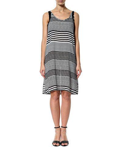 PULZ Nelly short dress – Pulz 'Nelly' kjole – Sort/hvid