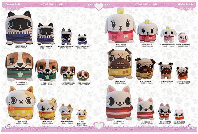 Canimals 8 10 Plush Dolls Cool Toys Cute Dolls