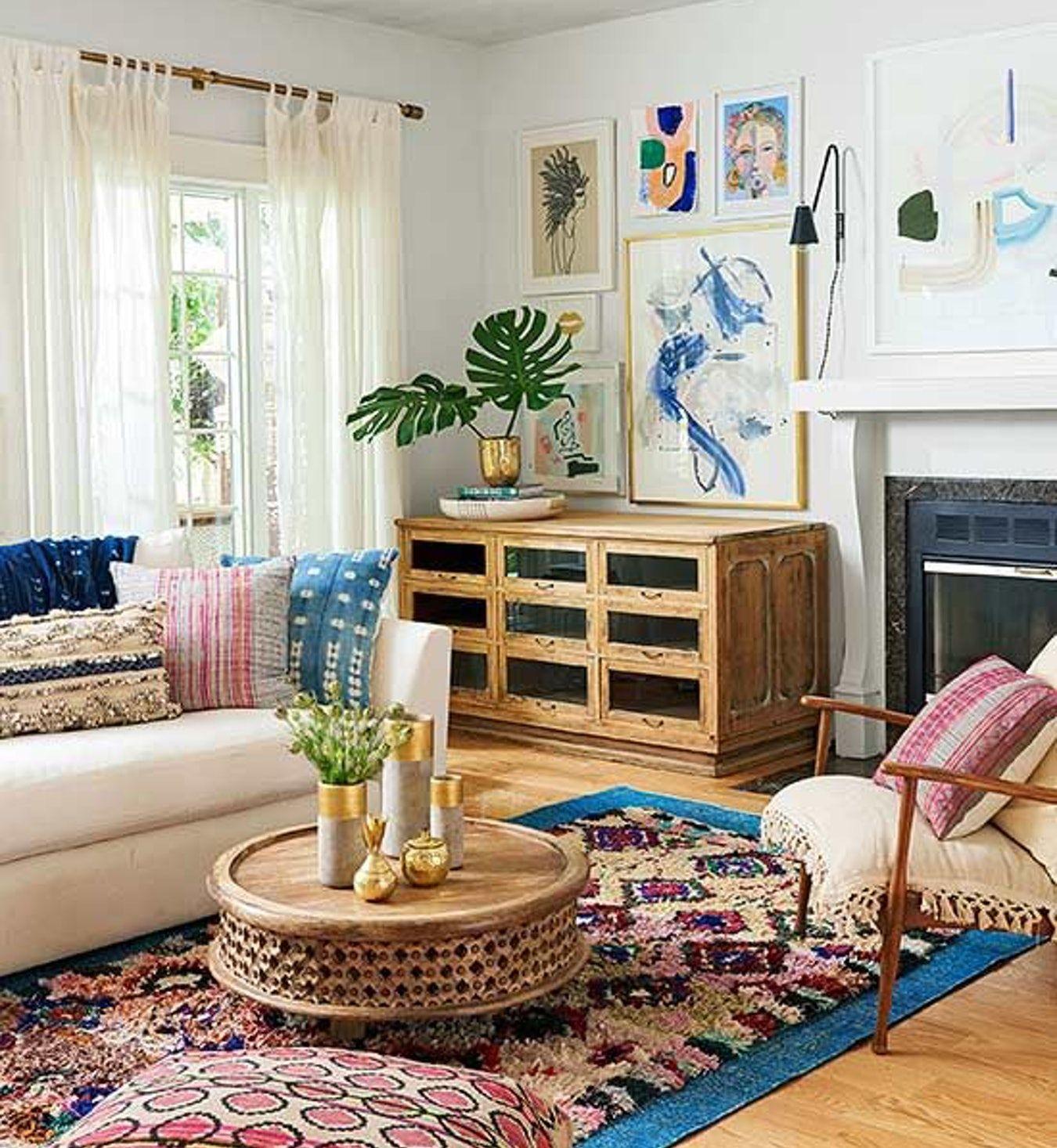 interior design style quiz  bohemian style living room