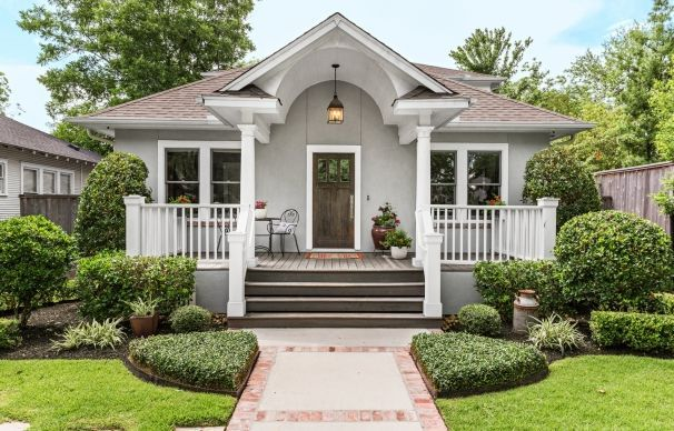 312 23rd St Houston Tx 77008 Photo Charming 1920s: A 1920s Bungalow Remodel: Room To Grow