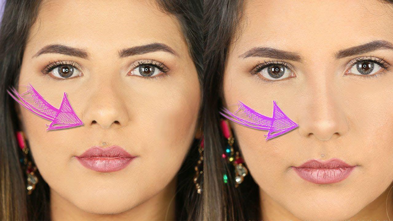 كونتور تصغير الانف Nose Contouring Makeup Tutorial Makeup Beauty Care