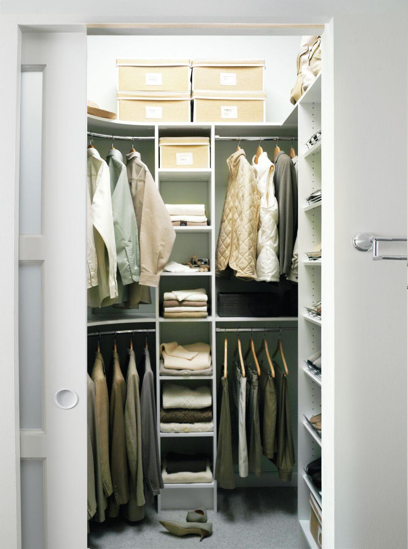 Home Ideas Bedroom Deep Closet Small Deep Closet Small Closet Storage
