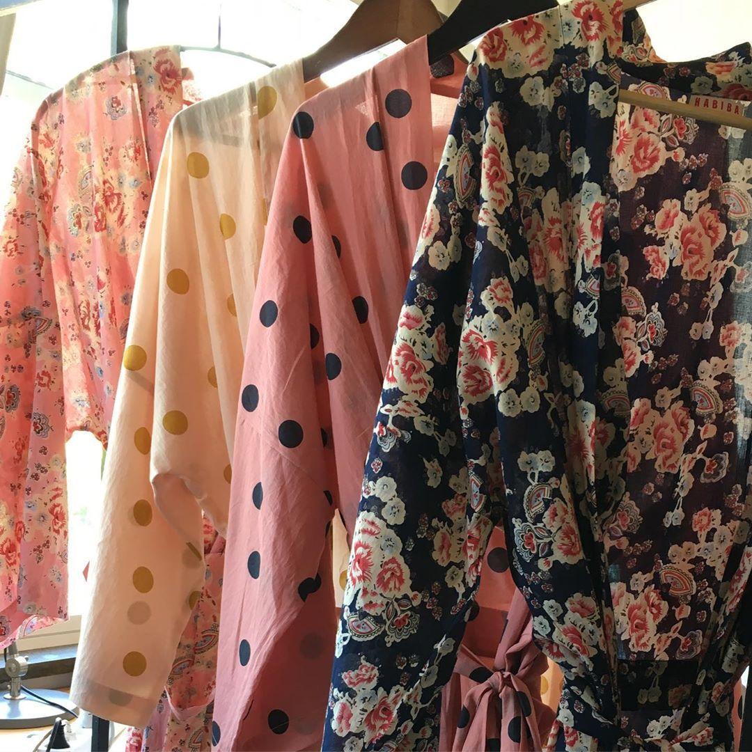 Habiba Shared A Photo On Instagram Habiba Kimono Organiccotton Yokoono Millajovovich See 217 Photos And Vid In 2020 Milla Jovovich Organic Cotton Kimono