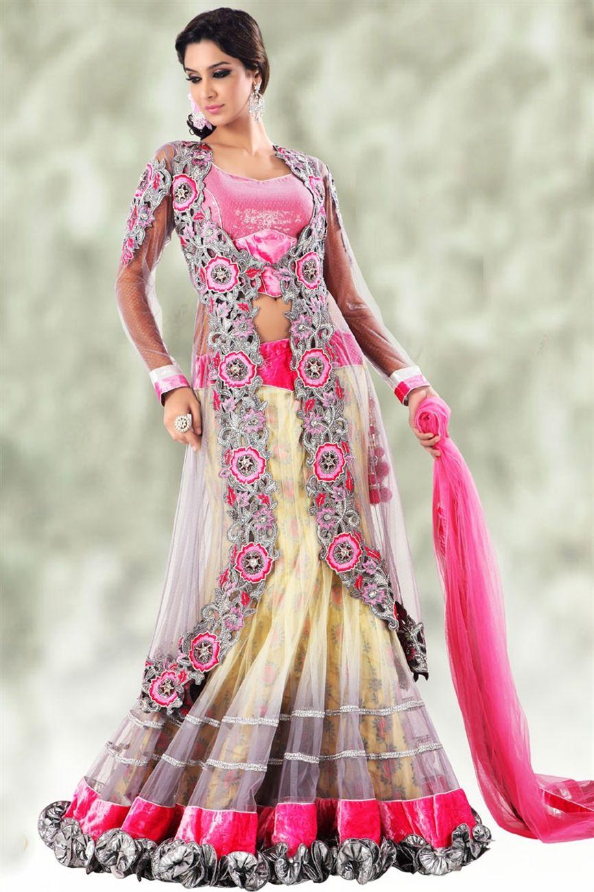Pink Lacha! It\'s so cute! | Desi Style | Pinterest