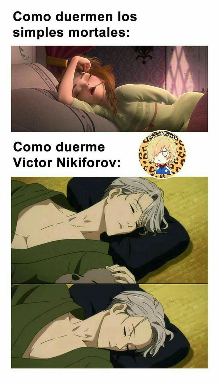 Memes de Yuri!!! on ice
