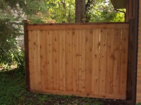 Dog Ear Fence With Top To Create Custom Look Wood Fence Design