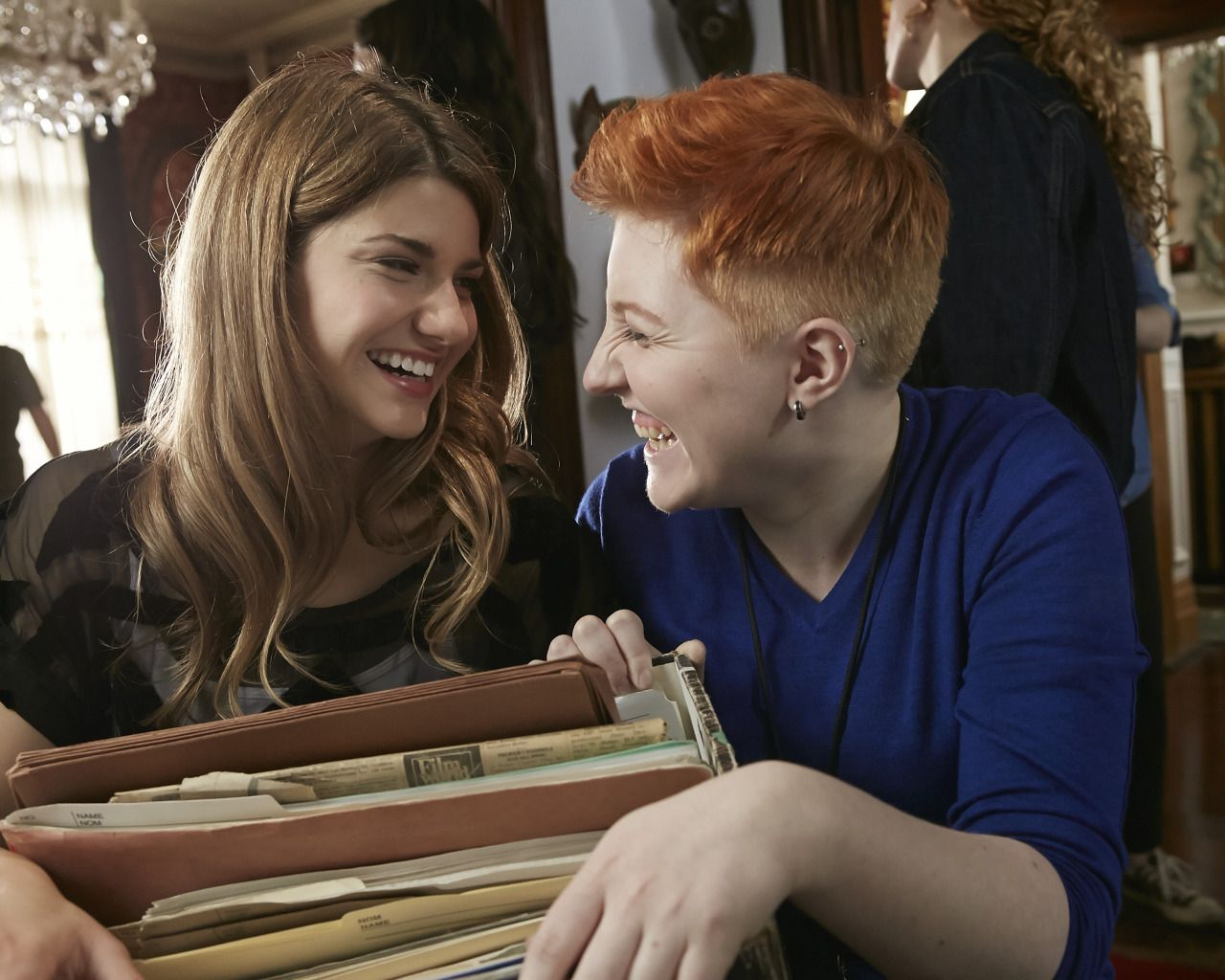 Carmillas2 Look At These Happy Dorks Elise Bauman As