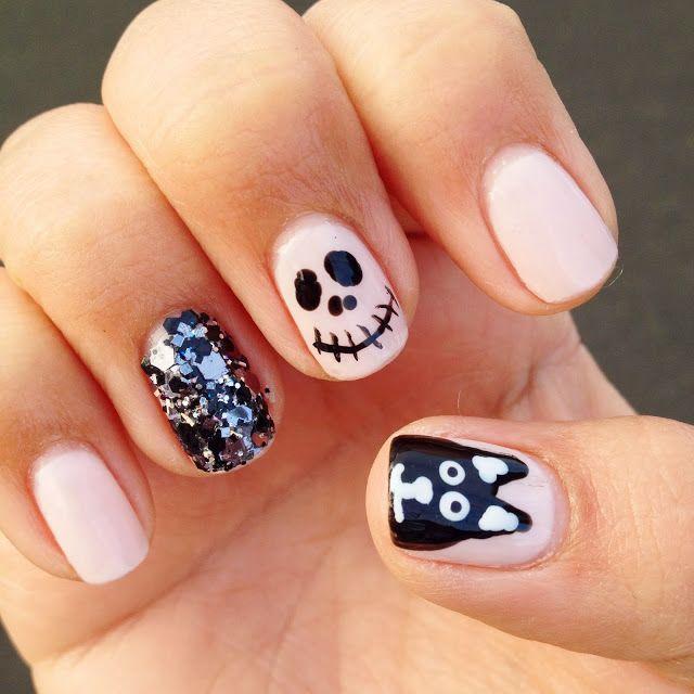 Pin-Spired Halloween nails | Autumn nails, Nails ...
