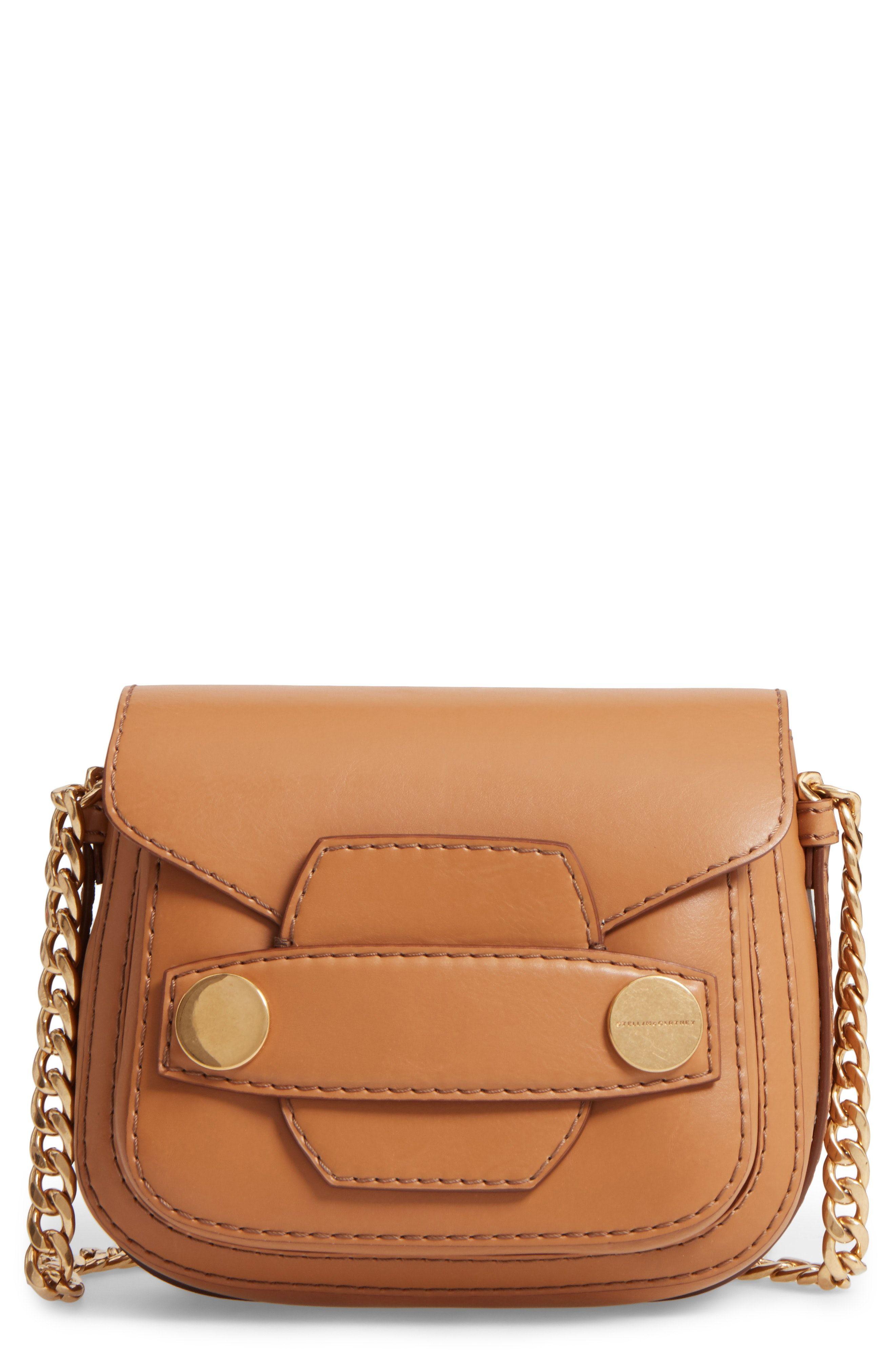 03bdbac63201 New Stella McCartney Textured Faux Leather Crossbody Bag fashion online.    895