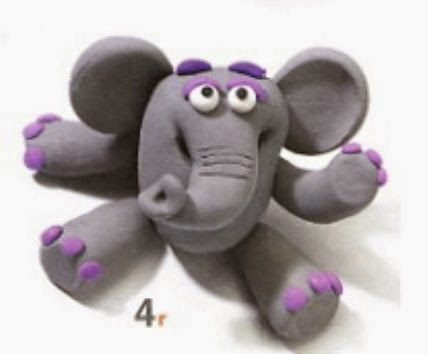 Plastilina Bambini ~ Figuras de plastilina para hacer con niños play doh