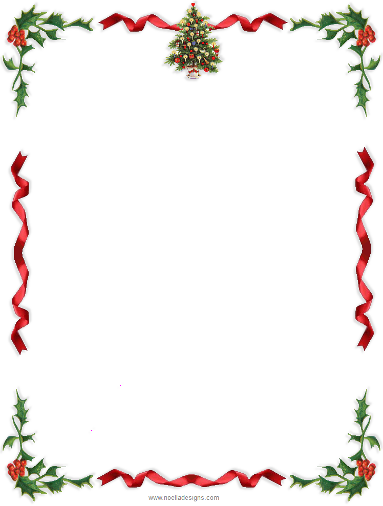 Gratifying image with free printable christmas letterhead