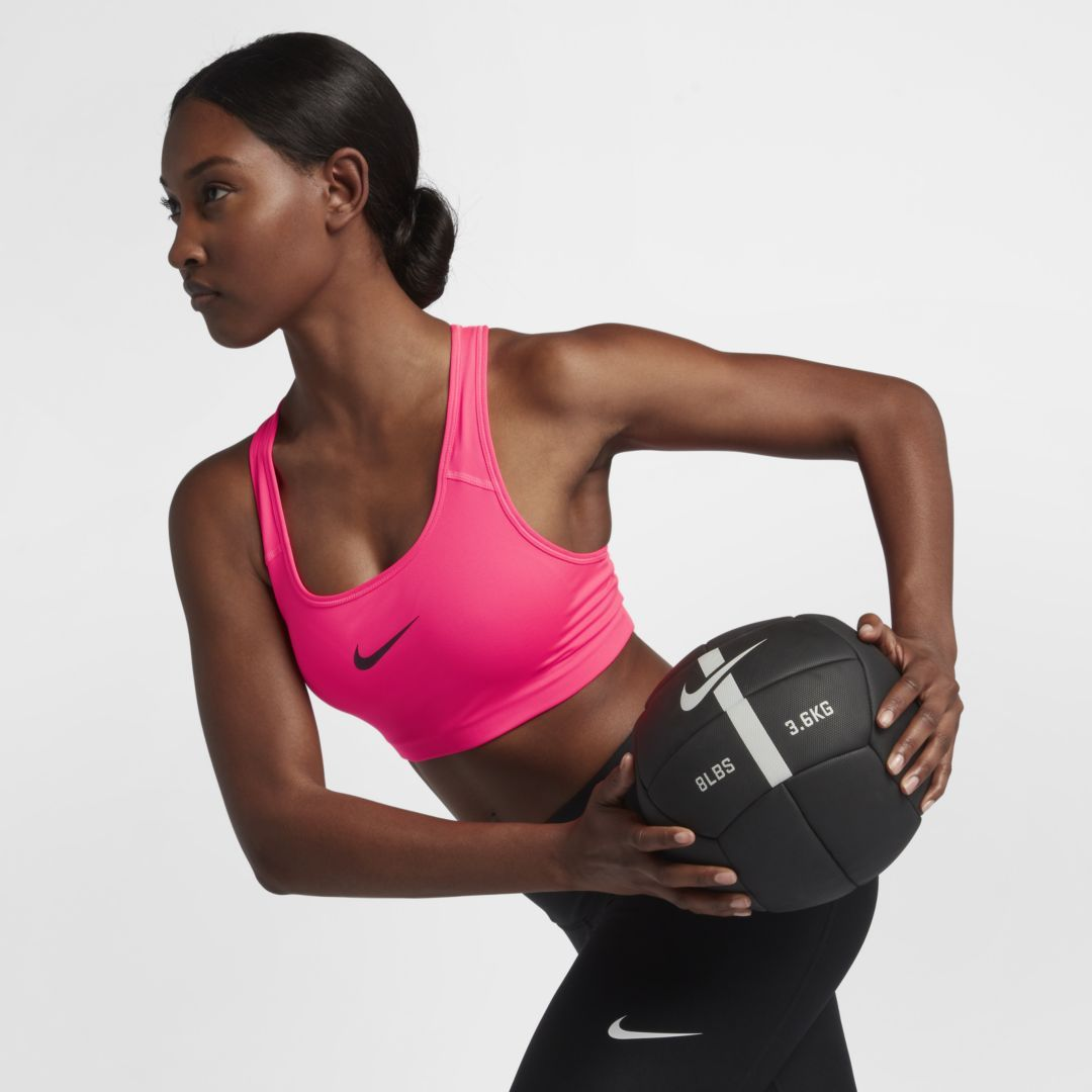 Swoosh Women's MediumSupport Sports Bra High support