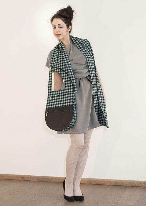 Fashion accessory - die Schaltasche - Handtasche & Schal