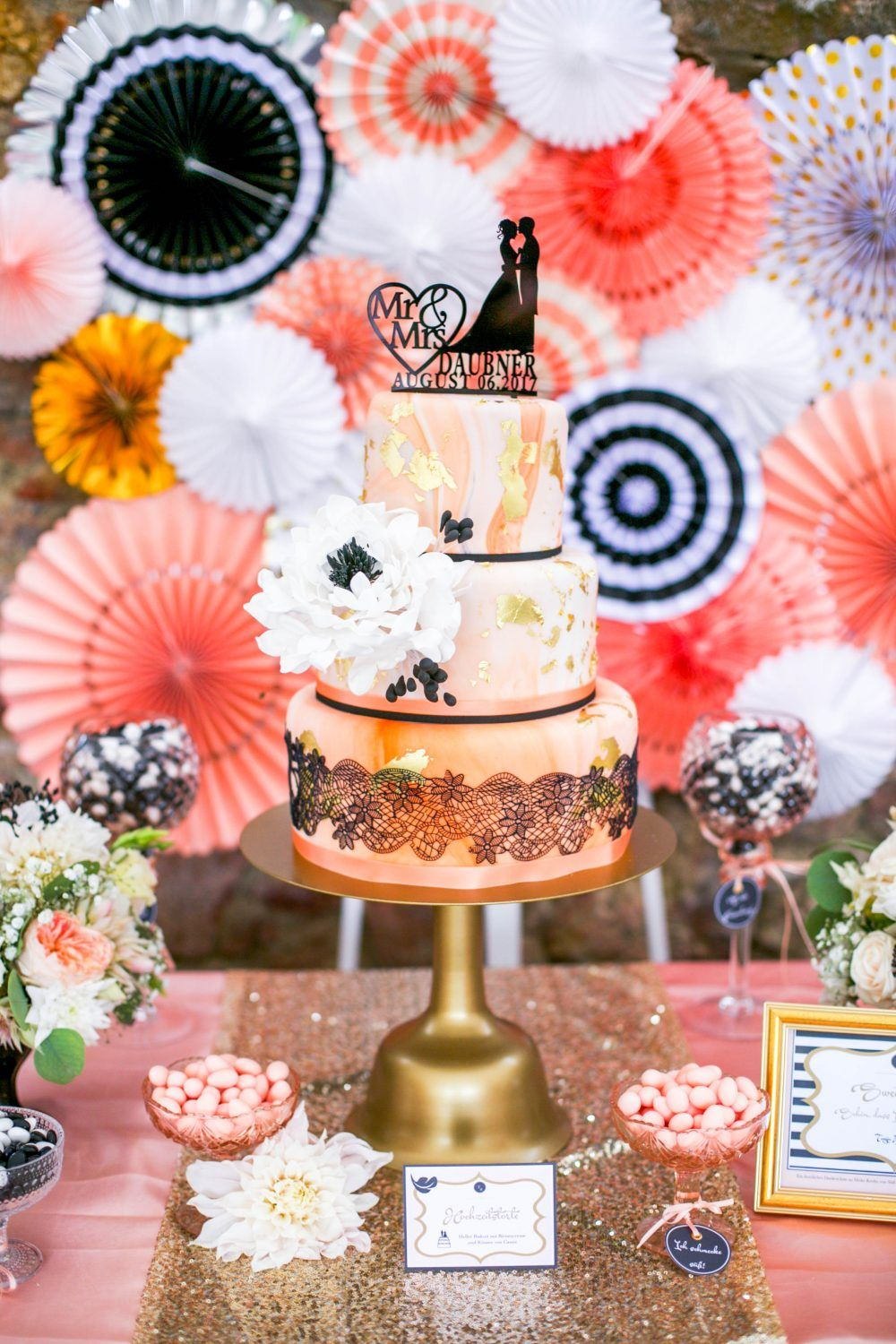 Pin by ronnica lin on cake yummy pinterest candy table and wedding