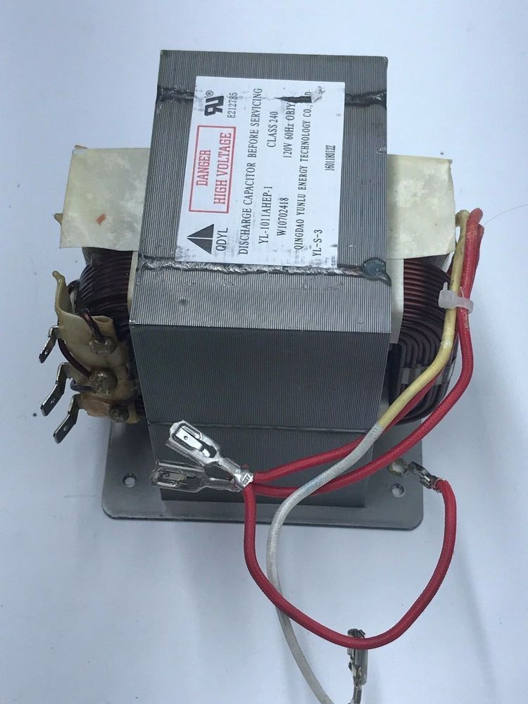 Transformer Part W10772112 Whirlpool Jenn Air Jmv8208cs 1 Microwave Oven Pinterest And